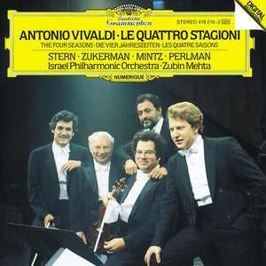 Vivaldi / Stern / Perlman / Mintz / Zukerman - 4 Seasons - CD