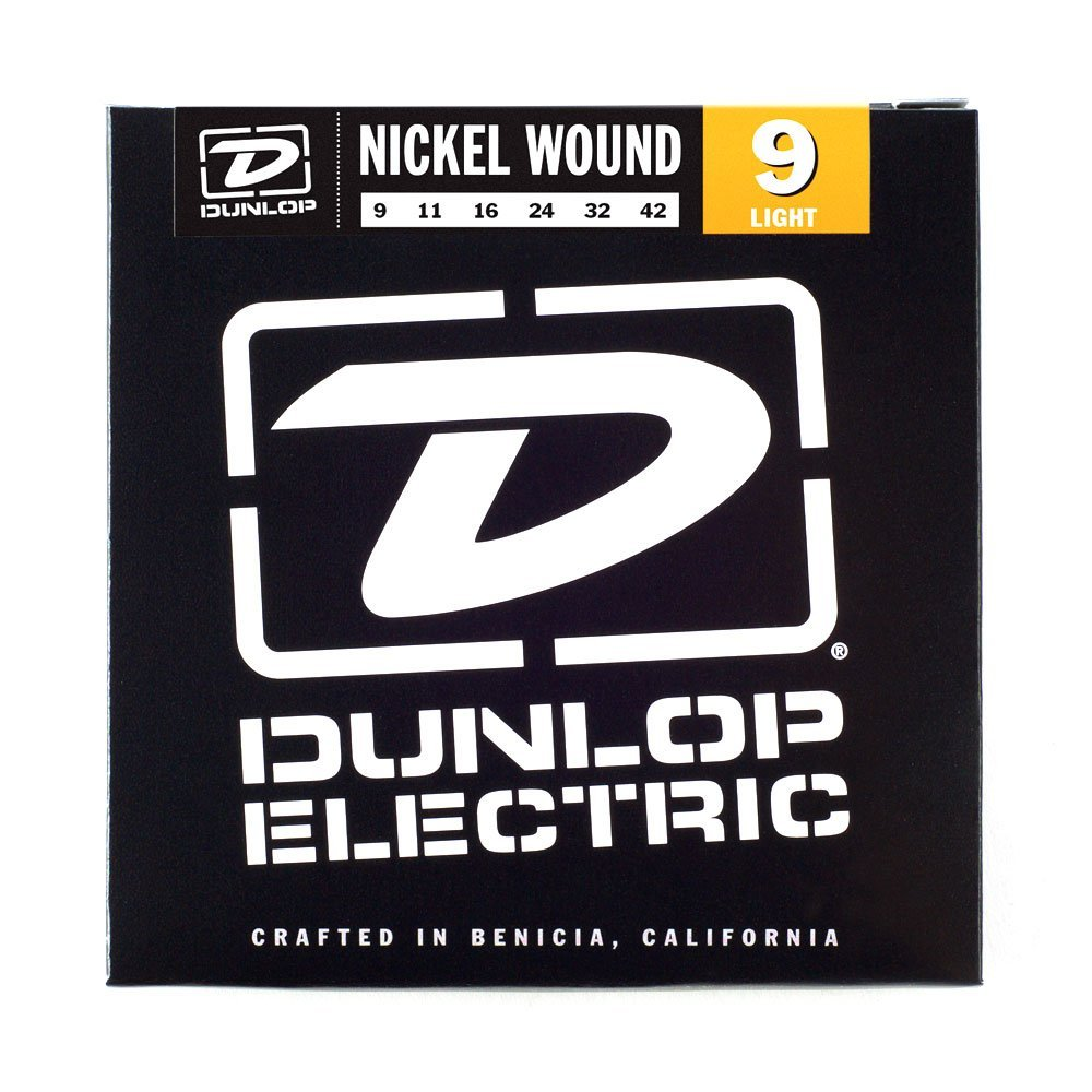 Dunlop Electric Guitar Strings - Nickel Wound 9 Light - Music Equipment