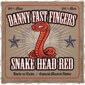 Danny Fast Fingers - Snake Head Red - CD