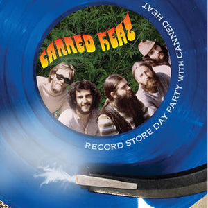 Canned Heat - Record Store Day Party With Canned Heat (blue) - Vinyl