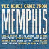 Various Artists - The Blues Came From Memphis - CD