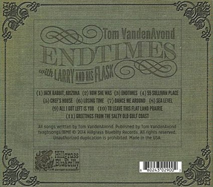 Tom Vandenavond - Endtimes (with Larry & His Flask) (dig) - CD