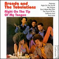 Brenda & Tabulations - Right On The Tip Of My Tongue - CD