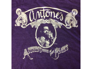 Antone's Purple Little Walter, Purple, Women's Xl - T-shirt