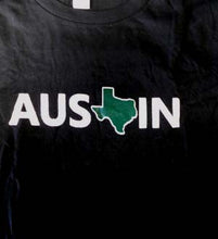 Load image into Gallery viewer, Tx Austin, Black W/ Green, Medium - T-shirt