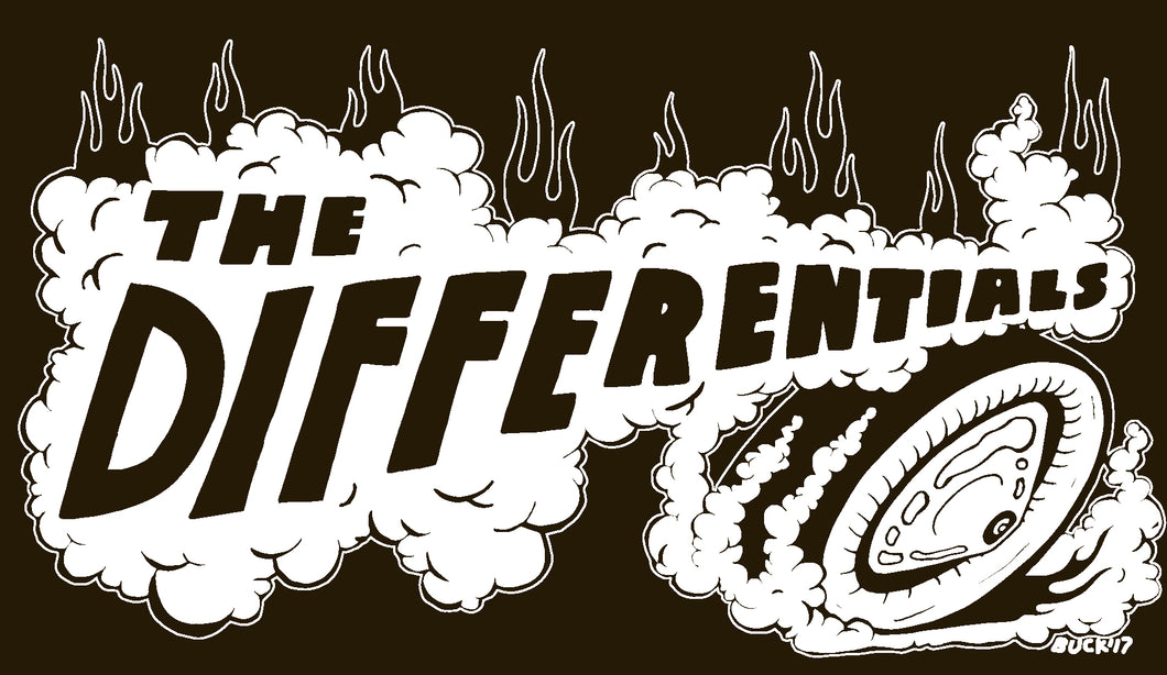 Differentials Smoke Logo, Black - T-shirt