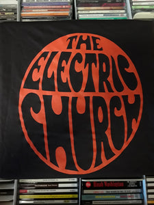 The Electric Church Classic Logo, Brown, Small - T-shirt
