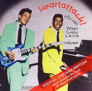 Various Artists - Heartattack! 1954-65 Wild And Crazy Rnb Vol. 2 - CD