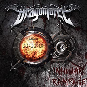 Dragonforce - Inhuman Rampage - CD