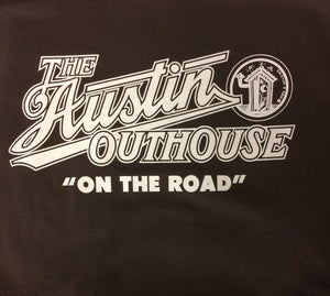 Austin Outhouse 2010, Brown, Xl - T-shirt