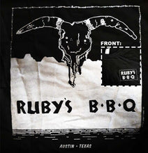 Load image into Gallery viewer, Ruby's Bbq, Black, Medium - T-shirt