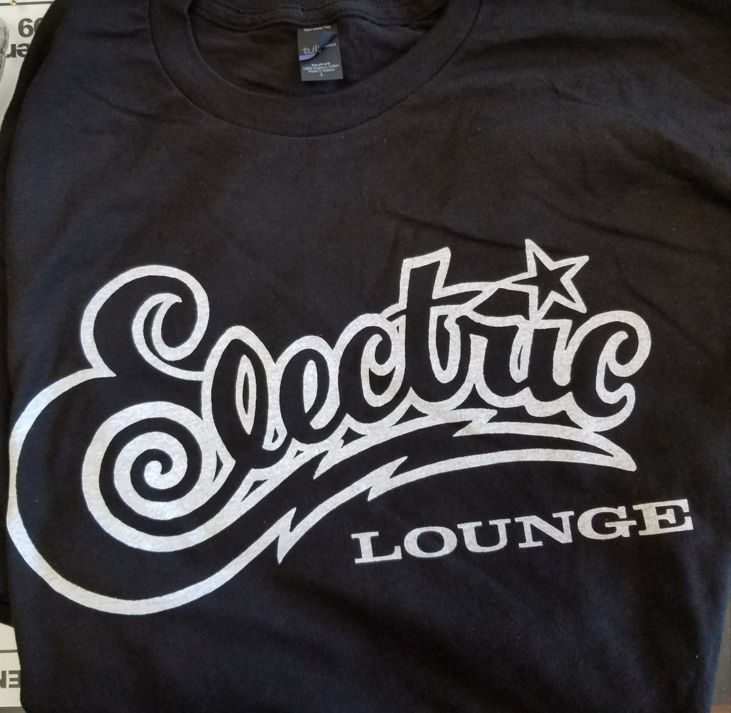 Electric Lounge, Black, Small - T-shirt