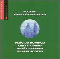 Puccini / Domingo / Te Kanawa / Carreras / Scotto - Great Opera Arias: Essential Classics - CD