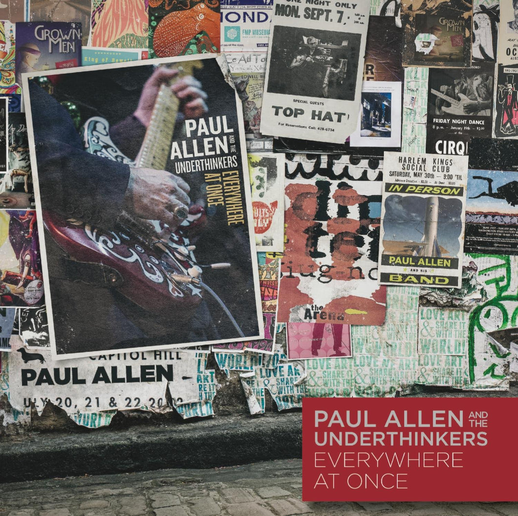 Paul & The Underthinkers Allen - Everywhere At Once - CD