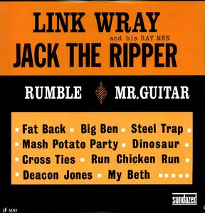 Link Wray - Jack The Ripper - Vinyl