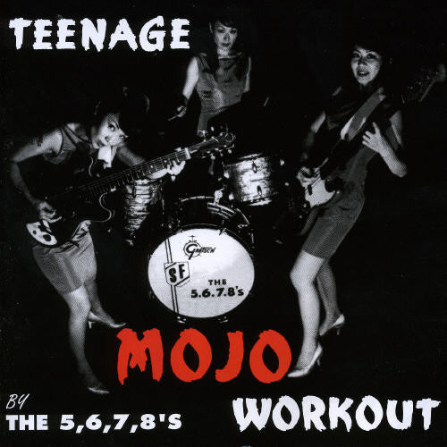 5678's - Teenage Mojo Workout - Vinyl