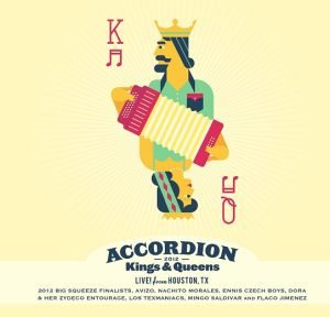 Various Artists - Accordion Kings & Queens Live From Houston - CD