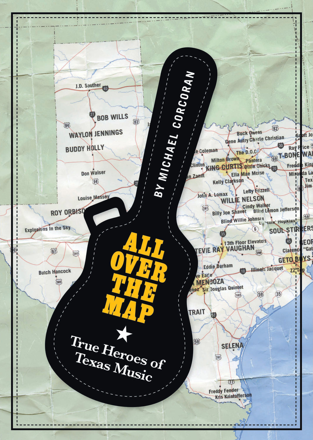 Michael Corcoran - All Over The Map - Book