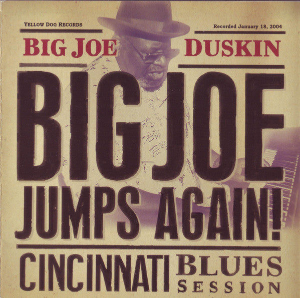 Big Joe Duskin - Big Joe Jumps Again: Cincinnati Blues Session - CD
