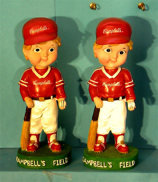 Campbell's Field Bobblehead boy and Girl