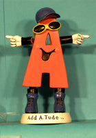 IHSA Add A. Tude 1 to 3 Bobbleheads