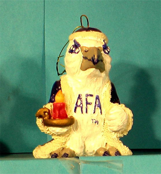 Air Force Falcons Mascot Christmas Ornament