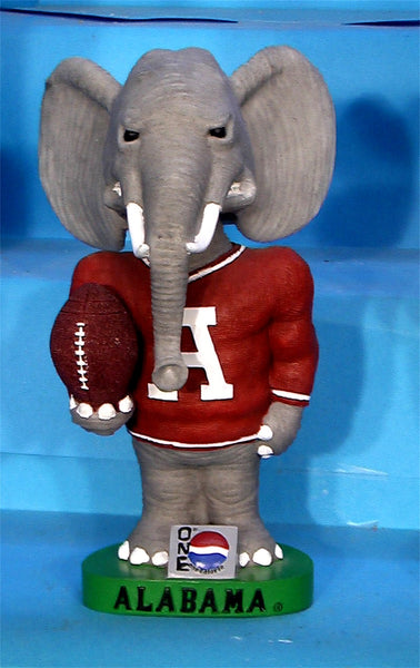Alabama Crimson Tide Pepsi One Big Al Mascot AGP bobblehead