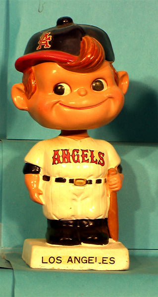 Vintage Los Angeles Angels White Base Bobblehead