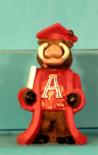 Case of 24 Arkansas Razorbacks Graduate Figurine