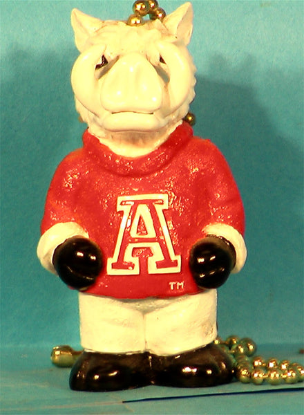 Arkansas Razorbacks Mascot Chain Pull
