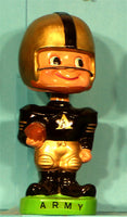 Vintage Army Black Knights Toes Up Bobblehead