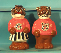 Auburn Tigers Mascot Salt & Pepper shakers