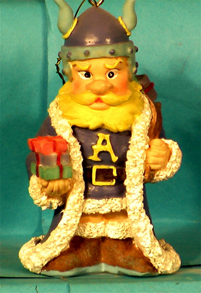 Augustana College Vikings Mascot Christmas Ornament
