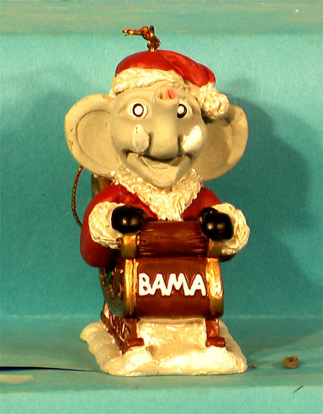 Alabama Crimson Tide '01 Mascot Christmas Ornament