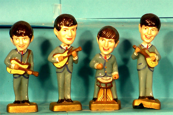 Beatles Cake Toppers Bobblehead