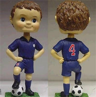 Soccer Boy Custom Painted Bobblehead