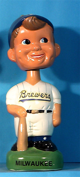 Milwaukee Brewers 1990's bobblehead Twins Enterprise Inc