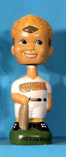 Milwaukee Brewers Cheeseman 1998 bobblehead Twins Enterprise Inc