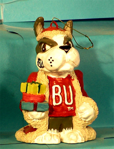 Boston University Terriers Mascot Christmas Ornament
