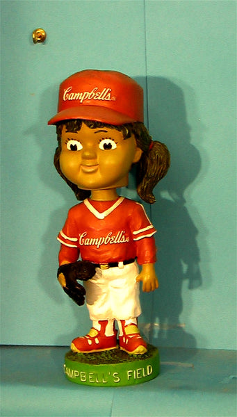 Campbell's Field Girl   bobblehead