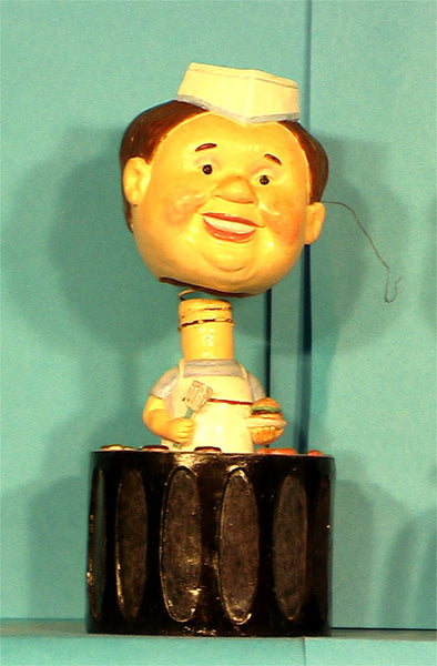 Wine Cork Cook   Bobblehead