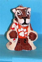 Clemson Tigers '99 NCAA Mascot Christmas Ornament