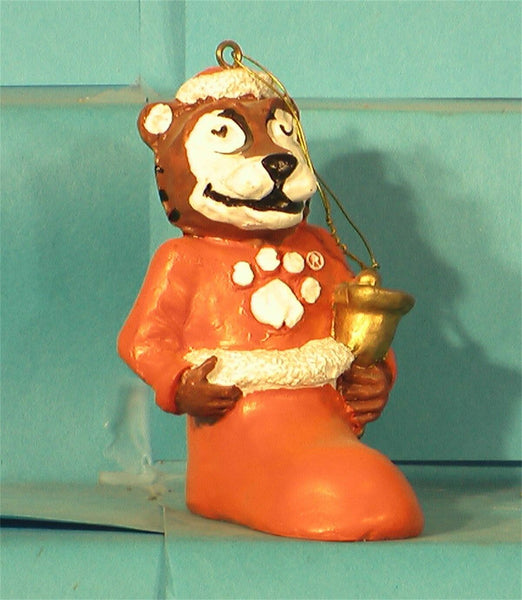 Clemson Tigers '00 NCAA Mascot Christmas Ornament