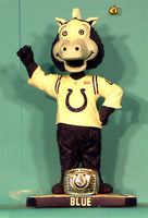 Indianapolis Colts Mascot Blue Bobblehead