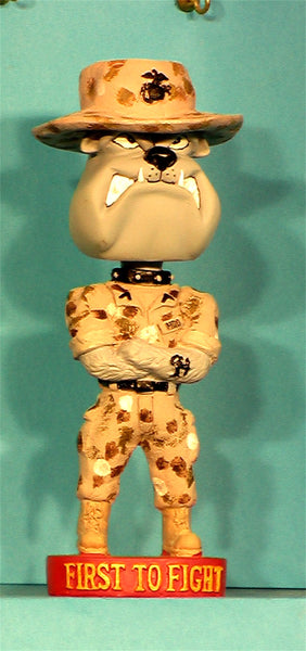 US Marines Desert Dog Bobblehead