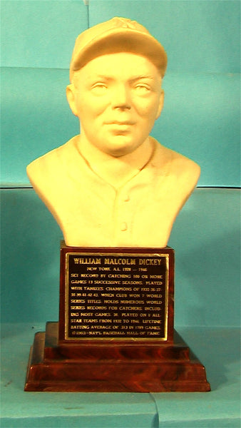 Bill Dickey 1963 Hall of Fame bust