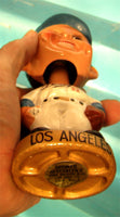 Vintage Los Angeles Dodgers gold base Glove Bobblehead