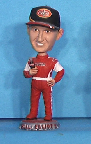 Bill Elliott mini nascar bobbleehead
