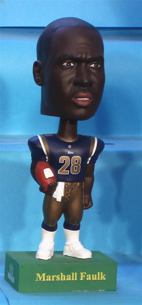 Marshall Faulk Rams Upper Deck NFL  base bobblehead