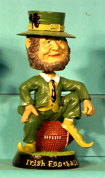 Fighting Irish Football Bobblehead